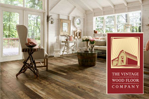 Vintage Wood Floors in San Clemente